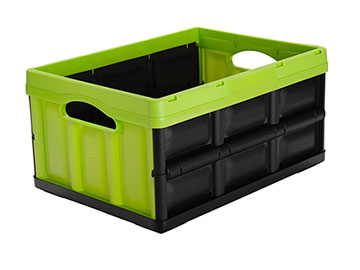 clever folding crates