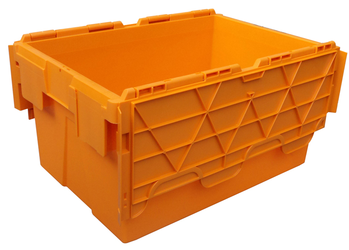 Attached Lid Distribution Containers