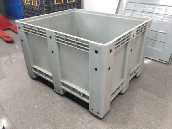 plastic pallet storage boxes